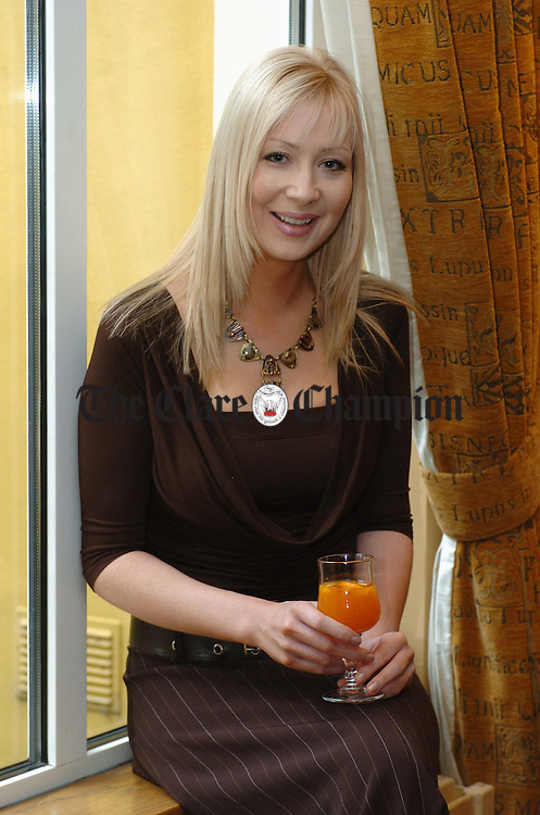 Shirley Kelly was  at the Rochford's Pharmacy Estee Lauder launch in the Temple Gate Hotel. Photograph by John Kelly.