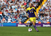 Sunday 01 September 2013<br /> Pictured:  Jonjo Shelvey of Swansea.<br /> Re: Barclay's Premier League, West Bromwich Albion v Swansea City FC at The Hawthorns, Birmingham, UK.