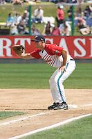 July 6, 2008: Everett AquaSox's first baseman Brandon Fromm against the Yakima Bears at Everett Memorial Stadium in Everett, Washington.