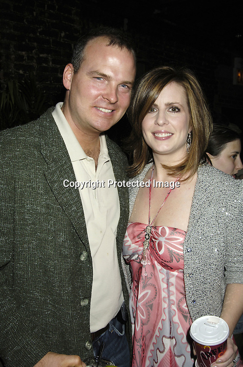 """Martha Byrne and husband Michael McMahon ..at a record release party for Martha Byrne's new CD """"The Other Side""""  on November 2, 2005 at Soho 323...Photo by Robin Platzer, Twin Images"""