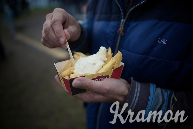cx-food: belgian fries<br /> <br /> GP Zonhoven 2014