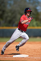 Illinois State Redbirds right fielder Jared Hendren (19) during a game against the Northwestern Wildcats on March 6, 2016 at North Charlotte Regional Park in Port Charlotte, Florida.  Illinois State defeated Northwestern 10-4.  (Mike Janes/Four Seam Images)