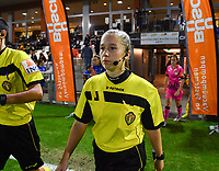assistant referee Shauni Depruyst pictured during a female soccer game between  AA Gent Ladies and Sporting Charleroi Feminin on the fifth matchday of the 2020 - 2021 season of Belgian Scooore Womens Super League , friday 16 th of October 2020  in Oostakker , Belgium . PHOTO SPORTPIX.BE | SPP | DAVID CATRY