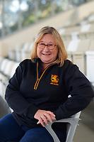Finance & admin manager Rowena Hensman. 2021 Cricket Wellington staff headshots at NZ Cricket Museum in Wellington, New Zealand on Monday, 2 August 2021. Photo: Dave Lintott / lintottphoto.co.nz
