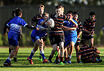 Junior Rugby, Kings College 6A v St Kents 7A, Kings College, Auckland, New Zealand. Saturday 6 May 2017. Photo: Simon Watts/www.bwmedia.co.nz for Kings College