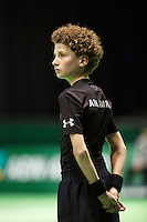 Rotterdam, The Netherlands, Februari 10, 2016,  ABNAMROWTT, Ball-Boy<br /> Photo: Tennisimages/Henk Koster