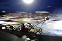 Jul, 22, 2011; Morrison, CO, USA: NHRA top fuel dragster driver Larry Dixon during qualifying for the Mile High Nationals at Bandimere Speedway. Mandatory Credit: Mark J. Rebilas-