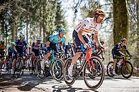 spanish champion Luis León Sánchez (ESP/Astana - Premier Tech) up the Côte de Wanne<br /> <br /> 107th Liège-Bastogne-Liège 2021 (1.UWT)<br /> 1 day race from Liège to Liège (259km)<br /> <br /> ©kramon
