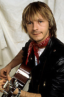 EXCLUSIVE FILE PHOTO :  Renaud<br />  , circa 1985<br /> <br /> PHOTO : Harold Beaulieu - Agence Quebec Presse