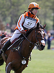 Sharon White and Rafferty's Rules at the Rolex Three Day Event Cross Country Course.  April 28,2012.