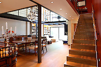 modern contemporary house with mezzanine