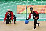 Ahmad Zeividavi, Rio 2016 - Goalball.<br /> Canadian men play Sweden in goalball // Les hommes canadiens affrontent la Suède au goalball. 13/09/2016.
