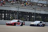 #20: Christopher Bell, Joe Gibbs Racing, Toyota Supra Rheem, #7: Justin Allgaier, JR Motorsports, Chevrolet Camaro Klondike
