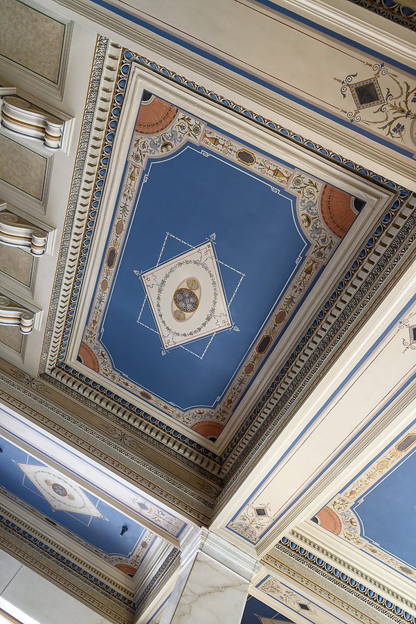 Lobby Ceiling (1) - Daniels & Fisher Tower