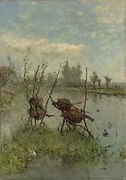 Ducks Nest - by Paul Joseph Constantin Gabriel, 1890 - 1900