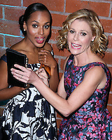 CULVER CITY, LOS ANGELES, CA, USA - NOVEMBER 08: Kerry Washington, Julie Bowen arrive at the 3rd Annual Baby2Baby Gala held at The Book Bindery on November 8, 2014 in Culver City, Los Angeles, California, United States. (Photo by Xavier Collin/Celebrity Monitor)