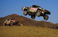 Jun. 27, 2009; Lake Elsinore, CA, USA; LOORRS unlimited 2 driver Robby Woods (99) during round five at the Lake Elsinore Motorsports Complex. Mandatory Credit: Mark J. Rebilas-