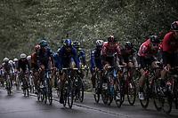 Tiesj Benoot (BEL/Lotto Soudal) in the bunch.<br /> <br /> 78th Euro Metropole Tour 2018<br /> La Louvière – Tournai (BEL): 206km