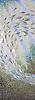 Ellen's Fish Jewel glass mosaic by Ellen McCaleb for New Ravenna Mosaics.