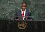 72 General Debate – 22 September <br /> <br /> Sierra Leone