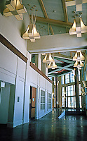 Charles Moore:  School of Business--interior.  Photo '98.