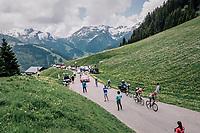 Top of the Col du Pré<br /> <br /> Stage 6: Frontenex > La Rosière Espace San Bernardo (110km)<br /> 70th Critérium du Dauphiné 2018 (2.UWT)