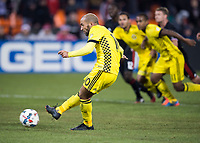 Washington, DC - March 18, 2017: Columbus Crew SC defeated D.C. United 2-0 during a Major League Soccer (MLS) match at RFK Stadium.
