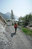 The Alaska Railroad's Spencer Glacier Whistlestop train gives visitors access to hiking, camping and stunning views.