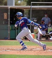 Miguel Vargas - Los Angeles Dodgers 2021 spring training (Bill Mitchell)