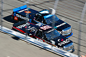NASCAR Camping World Truck Series<br /> UNOH 175 <br /> New Hampshire Motor Speedway<br /> Loudon, NH USA<br /> Saturday 23 September 2017<br /> Noah Gragson, Switch Toyota Tundra and Christopher Bell, SiriusXM Toyota Tundra<br /> World Copyright: Nigel Kinrade<br /> LAT Images