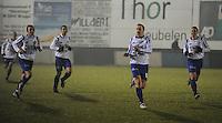 KM Torhout - KSV Temse..Sven Van Der Heyden scoort de winnende 0-1 voor Temse...foto VDB / BART VANDENBROUCKE