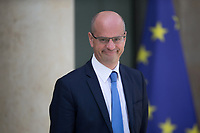 French Education Minister Jean-Michel Blanquer leaves the Elysee presidential palace following the weekly cabinet meeting on Wednesday, 28 June 2017 in Paris # CONSEIL DES MINISTRES DU 28/06/2017