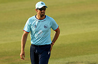 Sir Alastair Cook of Essex prepares for fielding duty during Essex Eagles vs Cambridgeshire CCC, Domestic One-Day Cricket Match at The Cloudfm County Ground on 20th July 2021