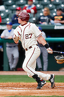 james McCann (27);March 10th, 2010; South Dakata State University vs Arkansas Razorbacks at Baum Stadium in Fayetteville Arkansas. Photo by: William Purnell/Four Seam Images