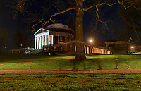 Projections on the Rotunda at the University of Virginia. Photo/Andrew Shurtleff Photography, LLC