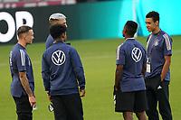 Jamal Musiala (Deutschland Germany), Karim-David Adeyemi (Deutschland Germany), Thilo Kehrer (Deutschland Germany) - Stuttgart 05.09.2021: Deutschland vs. Armenien, Mercedes-Benz Arena Stuttgart