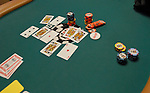 Chips and cards.