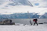 Photographer Art Wolfe on location in Antarctica