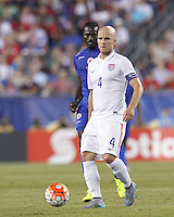 Foxborough, Mass. - Friday, July 10, 2015: The US Men's National team goes up against Haiti during group play action in the 2015 Gold Cup at Gillette Stadium.