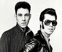 Robert Gordon and Link Wray. They've just finished a successful European tour.