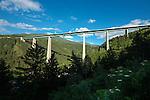 Austria, Tyrol, near Innsbruck: Europe Bridge at Patsch-Schoenberg in Wipp Valley | Oesterreich, Tirol, Innsbrucker Land: Europabruecke bei Patsch-Schoenberg im Wipptal