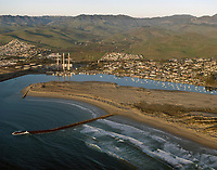 aerial photograph of Morro Bay, San Luis Obispo County, California