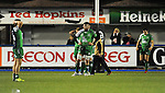 Connacht players look dejected after Cardiff Blues score a try in the dying moments <br /> Guiness Pro12<br /> Cardiff Blue v Connacht<br /> BT Sport Cardiff Arms Park<br /> 06.03.15<br /> ©Ian Cook -SPORTINGWALES