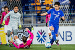 Ulsan Hyundai Forward Kim Insung (R) in action during their AFC Champions League 2017 Playoff Stage match between Ulsan Hyundai FC (KOR) vs Kitchee SC (HKG) at the Ulsan Munsu Football Stadium on 07 February 2017 in Ulsan, South Korea. Photo by Chung Yan Man / Power Sport Images
