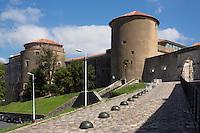 France, Aquitaine, Pyrénées-Atlantiques, Pays Basque, Bayonne:  le Château-Neuf // France, Pyrenees Atlantiques, Basque Country, Bayonne: The Château-Neuf