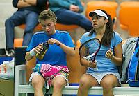 19-12-13,Netherlands, Rotterdam,  Topsportcentrum, Tennis Masters,     Demi Schuurs(NED) and Eva Wacanno(NED)  <br /> Photo: Henk Koster