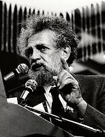 Montreal (QC) CANADA file photo - Mai 12 1985 - Bernard Benson, peace activist