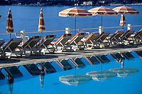 """France/06/Alpes-Maritimes/Beaulieu sur mer: Relais & château """"La Reserve"""" - La piscine [Non destiné à un usage publicitaire - Not intended for an advertising use]"""