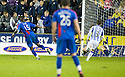 CALEY'S GREGORY TADE SCORES INVERNESS' SIXTH GOAL