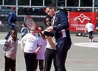 22-4-09, Den Haag, Opening 50e Krajicek Foundation playground,.